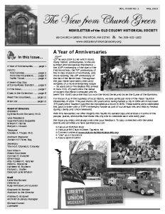 Fall 2014 Newsletter-thumbnail